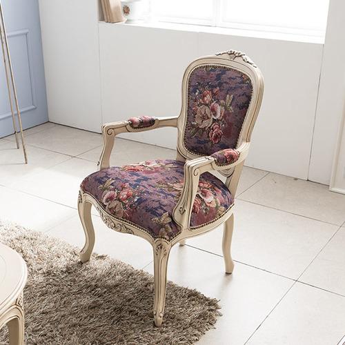 빈티지엔틱 엘라 컬러 1인 의자