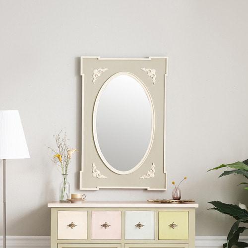 빈티지엔틱가구 카리나 로렌 거울 화장대벽거울