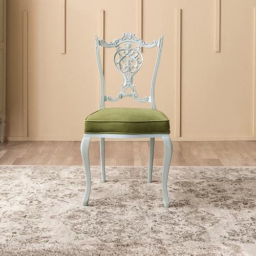 빈티지엔틱 아트라제 카빙 의자